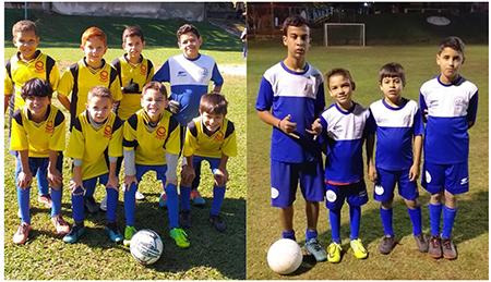 Sobee oferece escolinha de futebol para crianças de 5 a 16 anos