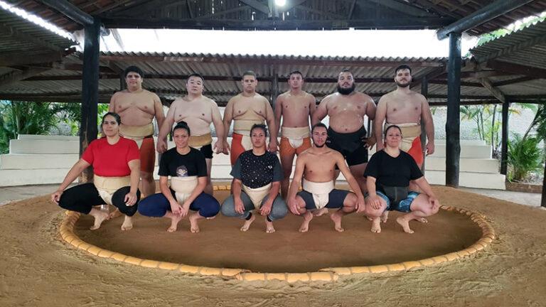 Equipe de Sumô é destaque em Campeonato Regional