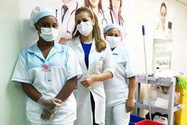 Profissionais  Hospital Monte Serrat  intensificam  medidas preventivas contra o Covid-19 – novo coronavírus