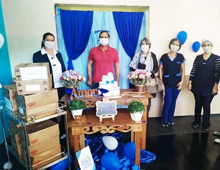 Profissionais do Hospital Monte Serrat são homenageados pelo trabalho e dedicação na assistência aos pacientes