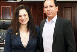 Vereador Edemilson prestigia visita da deputada Janaina Paschoal em Itu