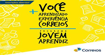 Correios terão 29 vagas para jovens aprendizes em Salto, Indaiatuba e Itu