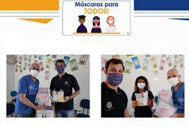 Read more about the article Rotary de Salto já doou mais de 2.200 máscaras à população saltense