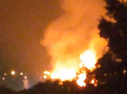 Read more about the article Incêndio na Eucatex assustou parte da cidade