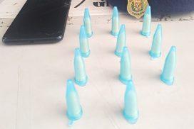 Equipe da GCM de Salto apreende drogas e celular no Santa Cruz