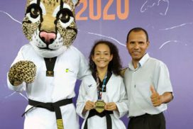 Taekwondo saltense faz história com a atleta Vitória Marcos