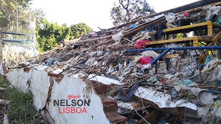 Esporte Amador em Salto está prejudicado com a destruição do Campo da Avenida, pela cheia da semana passada