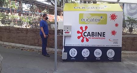 Grupo Eucatex divulga ações de prevenção ao coronavírus