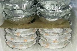 Membros da Torcida Independente distribuem marmitex em Salto