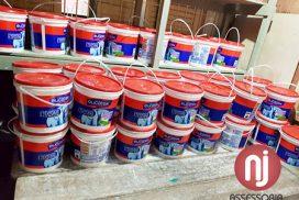 Vereador Cordeiro pede e capela de Santa Cruz recebe doações de tintas