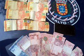 GCM flagra traficante com drogas e dinheiro no Jardim das Nações