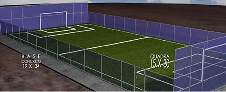 Área esquecida da Rua Itapiru, em Salto, poderá virar uma quadra de futebol society