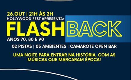 Dia 26, em Salto, a maior noite do flashback da região, no salão Hollywood Fest