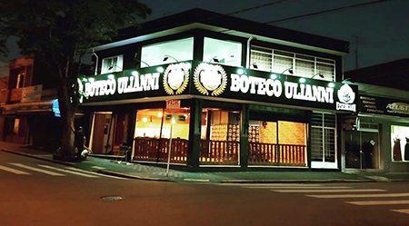 Trave seu calendário: 3 de dezembro, inauguração do Boteco Ulianni em Salto