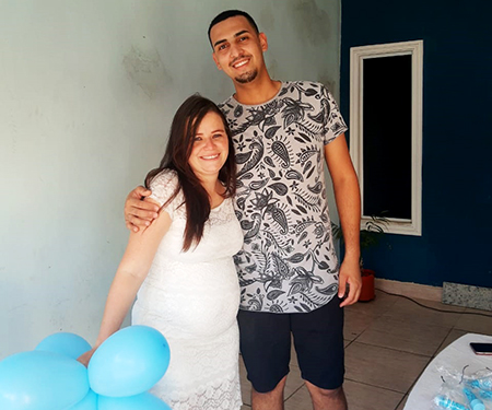 Read more about the article Charreata emociona mamãe Natália e papai André, no São Gabriel, em Salto