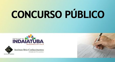 Indaiatuba está com 95 vagas em concurso e salários de até R$ 4.144,00 por mês