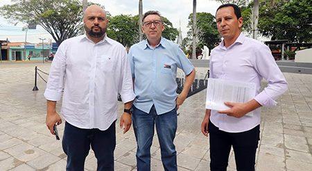 Read more about the article Márcio, Cícero e Edemilson também pedem intervenção do MP contra a Zona Azul
