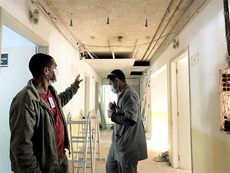 Hospital Municipal realiza ampliação de leitos clínicos para atendimento de Covid-19