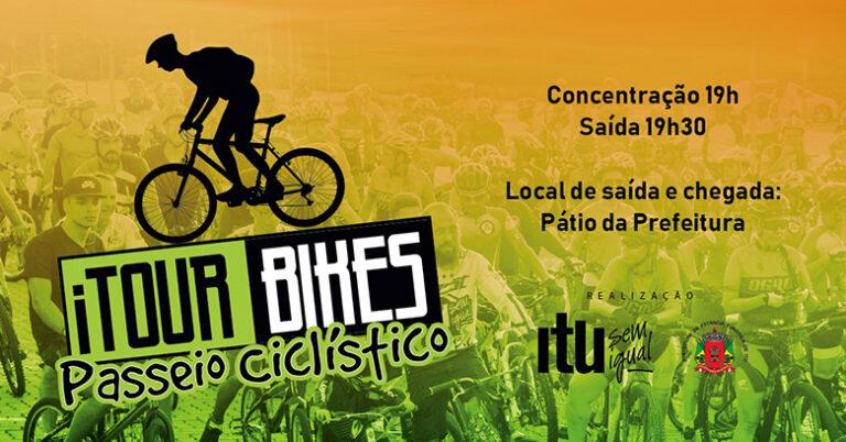 Read more about the article Você curte andar de bike? então não pode perder Itour Bikes, que será dia 30, em Itu
