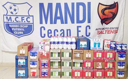 Mandi-Cecap: mais que apenas futebol, solidariedade em Salto