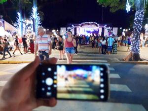Natal na Praça em Salto