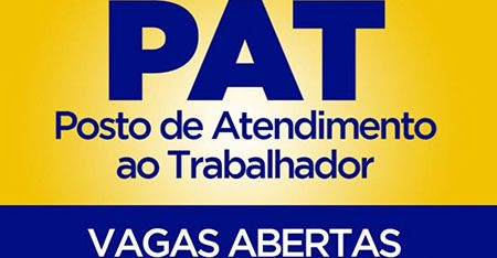 PAT de Salto tem 157 vagas em aberto nesta 2ª feira, dia 30