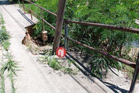 Read more about the article Muito cuidado ao passar pela ponte na Rua Vaticano, no acesso ao João Jabour, em Salto