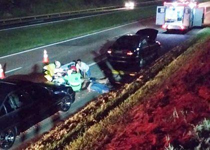 SP-75, a Rodovia da Morte, está com a bruxa solta: acidente mata 1 e manda três feridos graves para o Hospital