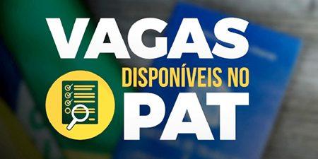 PAT de Salto tem 187 vagas abertas para 15 áreas, hoje dia 16