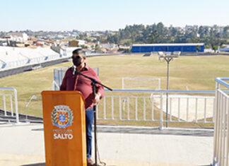 Que tal ir caminhar na nova pista do Estádio Amadeu Mosca?