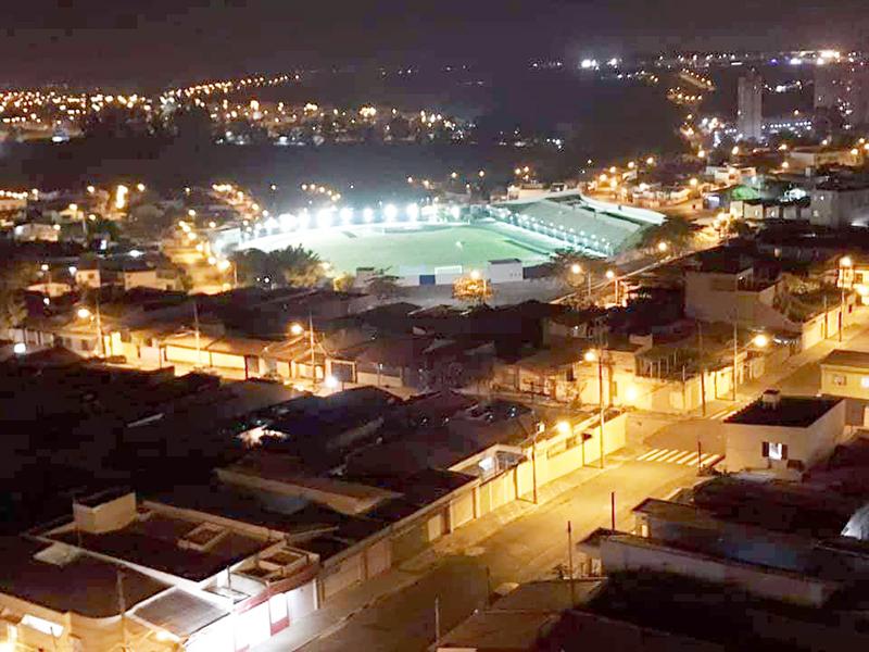 Reinauguração do Estádio Amadeu Mosca em Salto