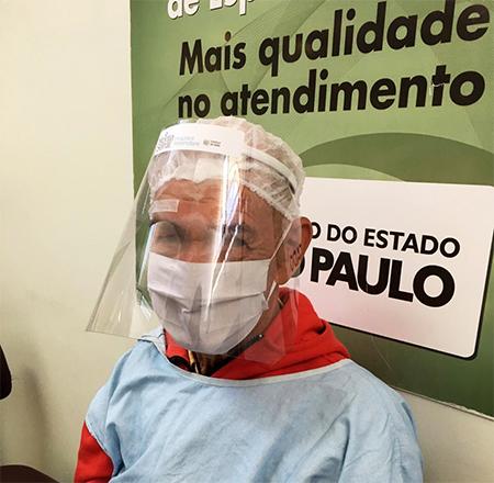 Hospital de Salto recebe doação de 800 faces shild para pacientes