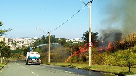 Incêndios: irresponsáveis aproveitam estiagem para destruir a natureza e se sentem impunes em Salto