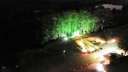 Hoje, dia 2 de setembro, a grande estreia do Cine Drive-In Na Fazenda