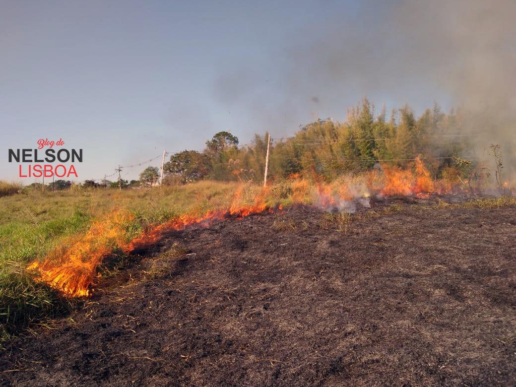 Estiagem e queimadas: rotinas comuns nesta época do ano em Salto