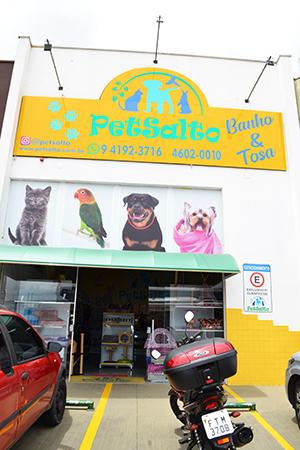 Pet Salto tem tudo para você cuidar bem do seu cãozinho ou pet