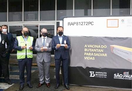 Qual sua opinião da chegada das primeiras 120 mil doses da vacina coronavac em São Paulo?