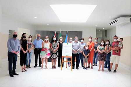 Quem mora na região do Salto de São José ganha nova clínica de Saúde