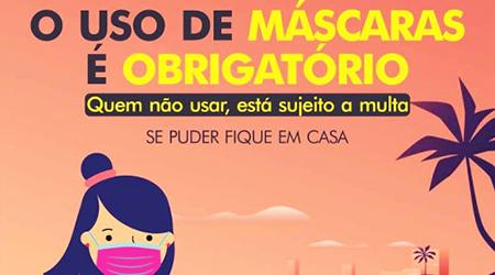 Estado reforça fiscalização e quem estiver sem máscara pode pagar multa de R$ 524,59