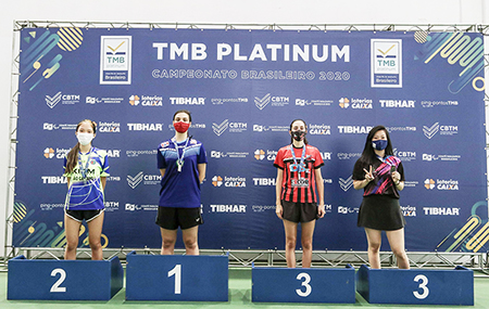Atleta do Ituano é convocada para seletiva da Seleção Brasileira de Tênis de Mesa