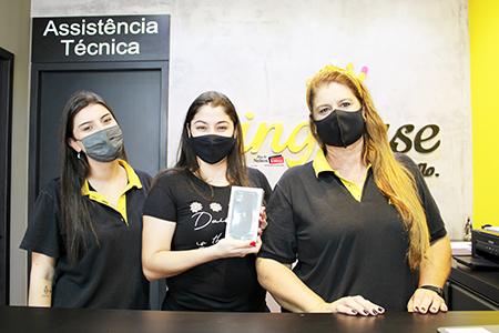 Cliente da King Case de Salto ganhou iphone 11 em sorteio estadual