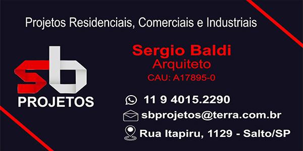 arquiteto Sérgio Baldi em Salto