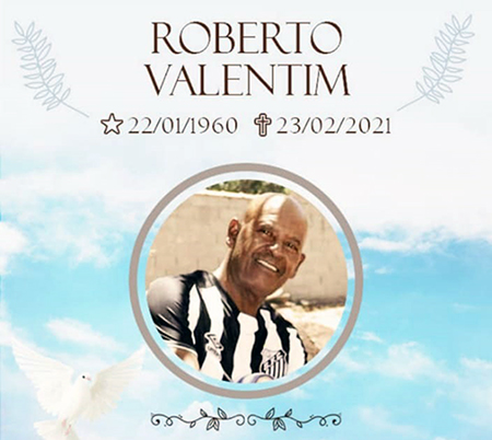 Torcida Unida do Santo Inácio perdeu um de seus patrocinadores: Roberto Valentim