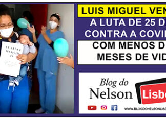 Luis Miguel ficou 25 dias internado e venceu a Covid-19 com menos de 3 meses de vida