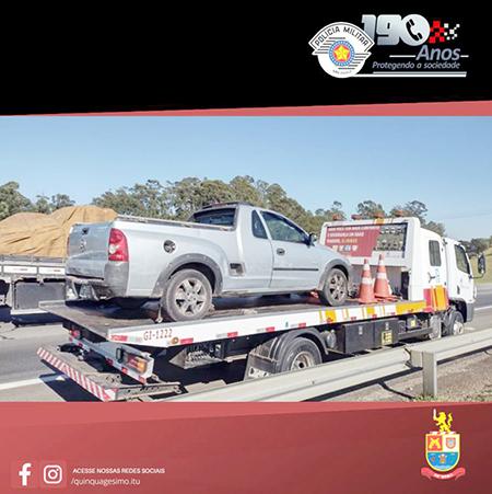 Projeto Radar ajuda PM de Itu a prender ladrões de carro