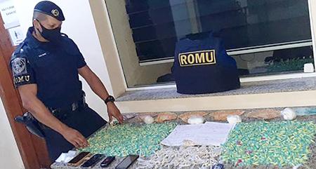 Read more about the article ROMU da GCM prende 3 com muita droga no Rondon