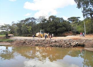 SAAE conserta vazamento de vertedouro do Piraí para garantir mais água para Salto