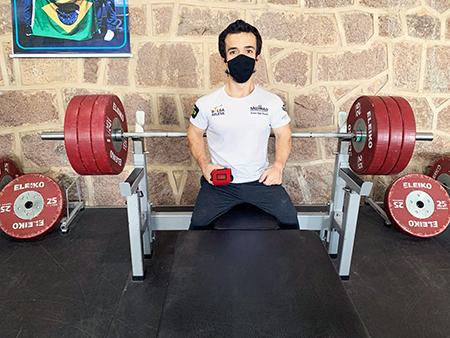 Read more about the article Com certeza você precisa saber: Salto estará representada na Paralimpíada de Tóquio com o fera Bruno Carra
