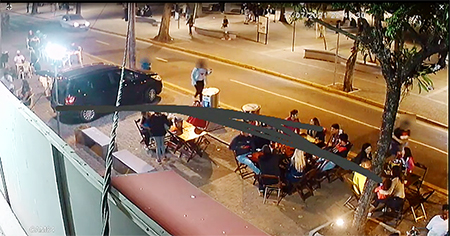 Read more about the article Comeram, beberam e saíram sem pagar: veja golpe sofrido por comerciante da Praça XV