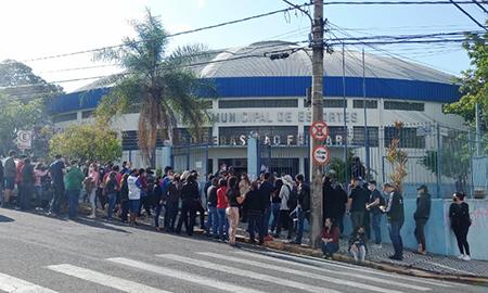 Read more about the article Saúde faz no dia 8 novo mutirão, com 6h de atendimento sem agendamento